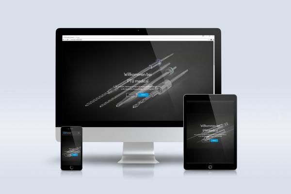 PTU Medical Internetauftritt