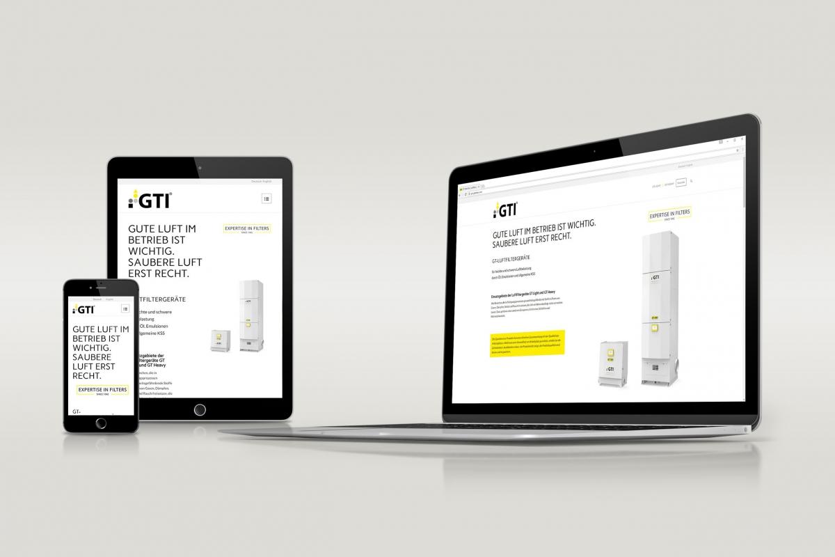 GTI Glob Tec Internetauftritt