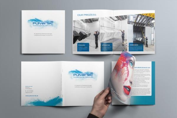 PulverTec ImageFlyer Broschüre