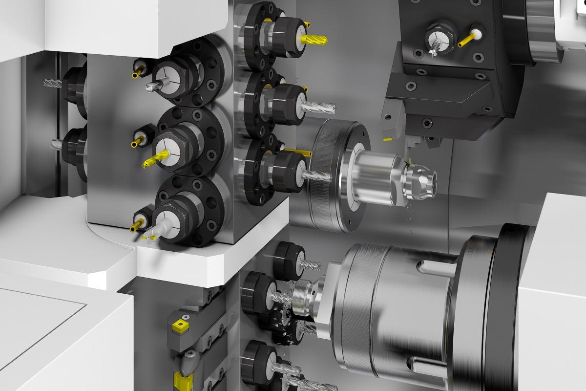 SolidCAM Rendering-Maschine