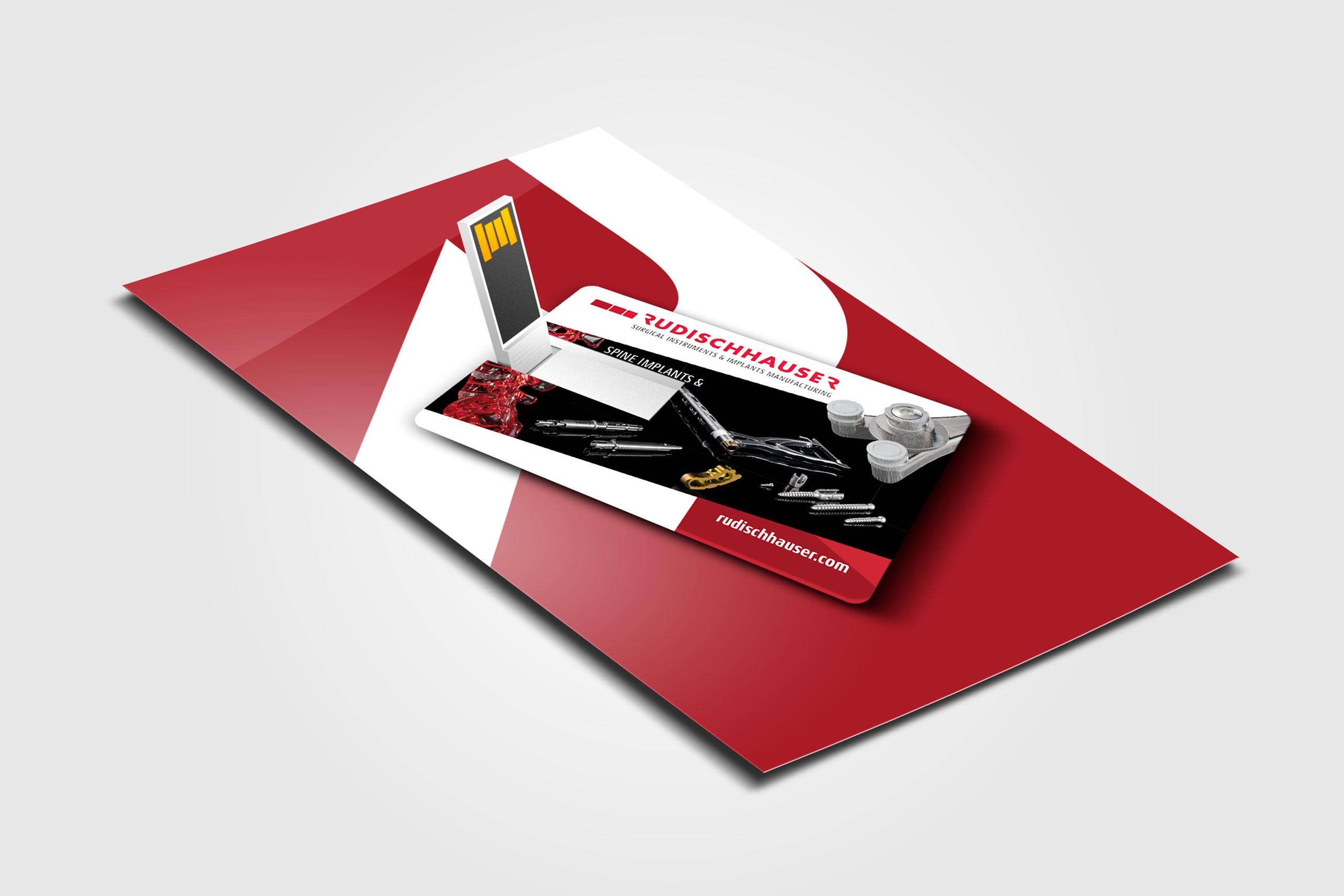 Rudischhauser Usb Visitenkarten Webtemps Werbeagentur